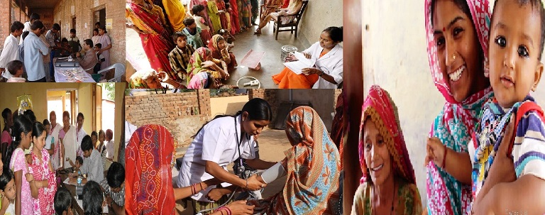 handling medical problems in villages through Internet