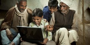 solving rural problems using Internet